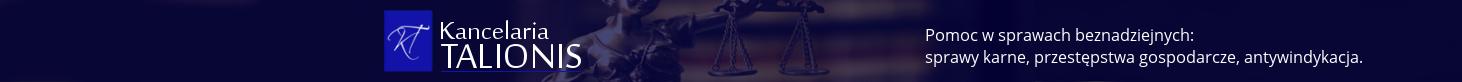 Kancelaria TALIONIS - sprawy karne, cywilne i gospodarcze